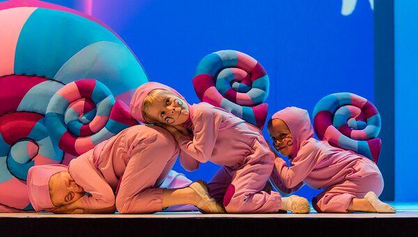 Сцена из спектакля Пиноккио в театре имени Б.А. Покровского
