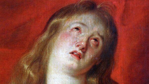 Питер Пауль Рубенс. Фрагмент картины Кающаяся Мария Магдалина с сестрой Марфой