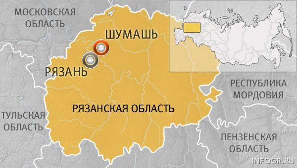 Рязанская область, деревня Шумашь