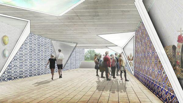 Проект развития музейного кластера у Кремля