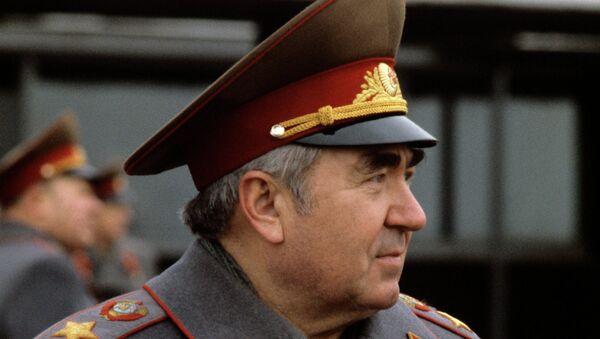 Маршал Советского Союза Виктор Куликов. Архив