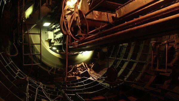 Строящаяся ветка красноярского метро, архивное фото