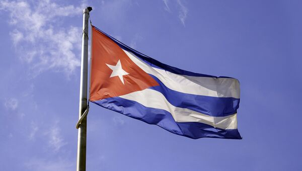 Флаг Кубы, архивное фото