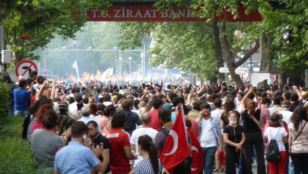Акции протеста в Анкаре