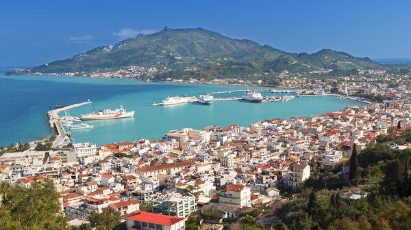 Остров Закинф в Греции