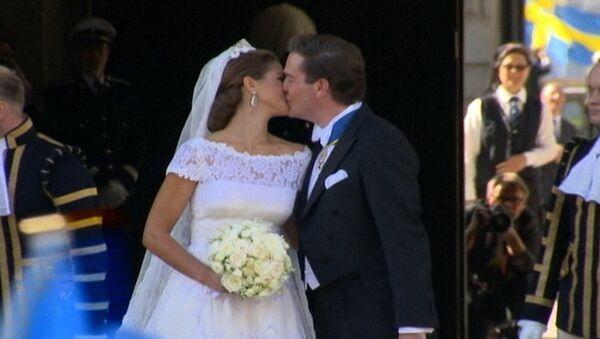 Каким было венчание шведской принцессы Мадлен и бизнесмена из США