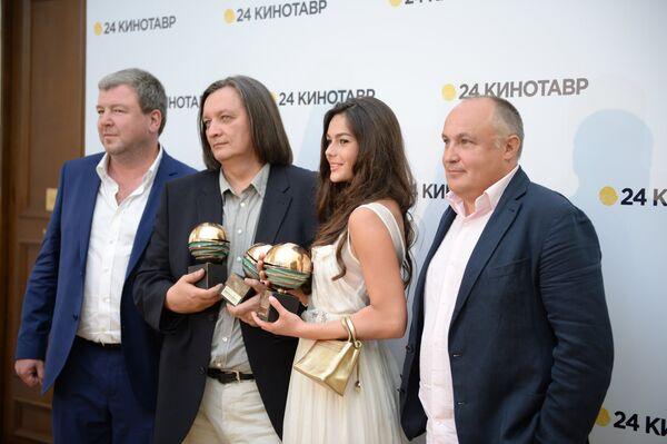 Церемония награждения лауреатов 24-го кинофестиваля Кинотавр