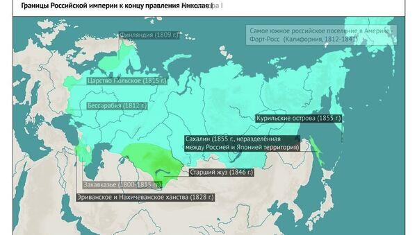Как менялись границы России на протяжении веков