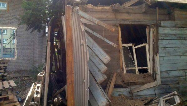 Строители пытались снести дом вместе с жильцами в Астрахани
