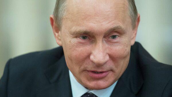 В.Путин встретился с представителями Гражданской двадцатки