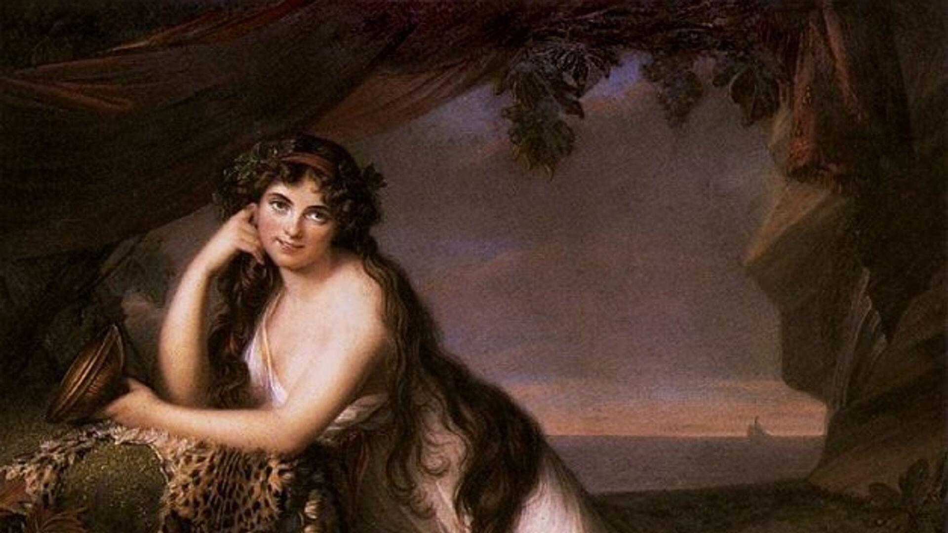 Элизабет Виже-Лебрен. Леди Эмма Гамильтон, 1790 - РИА Новости, 1920, 26.04.2020