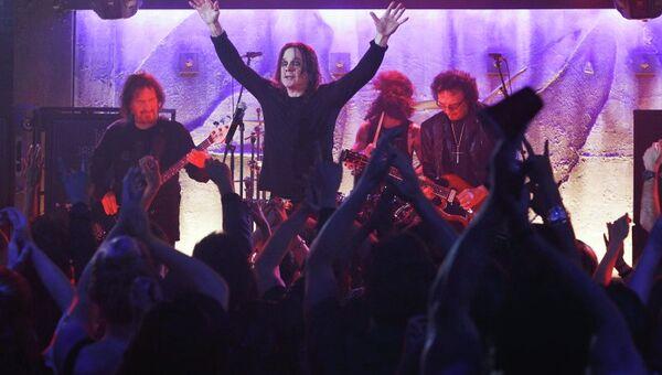 Британская рок-группа Black Sabbath