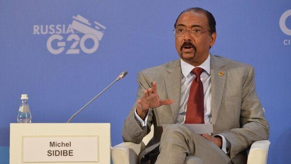Замгенсекретаря ООН, Исполнительный директор Объединенной программы ООН по СПИДу (ЮНЭЙДС) Мишель Сидибе