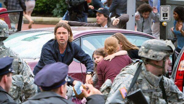 Кадр из фильма Война миров Z