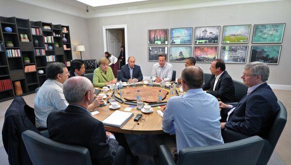 Саммит G8 в Северной Ирландии