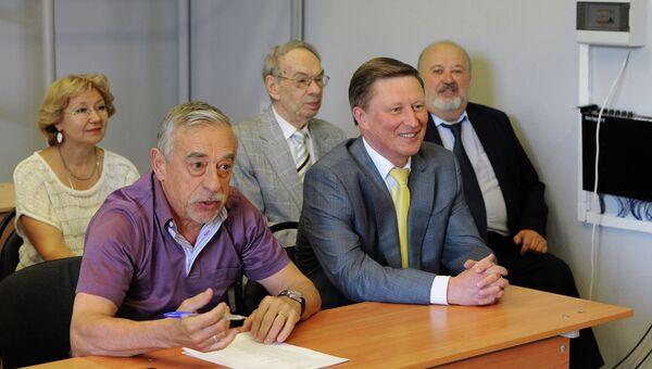 С. Иванов посетил ВГИК им.С. А. Герасимова