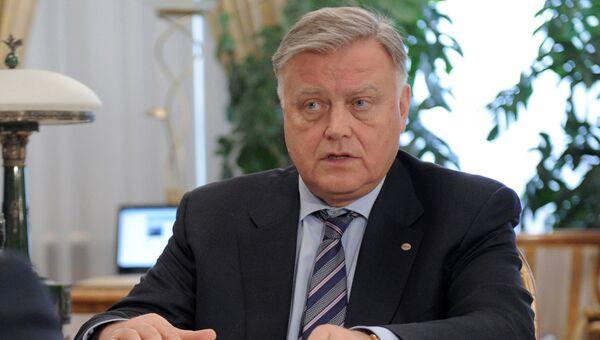 Глава ОАО РЖД Владимир Якунин, архивное фото