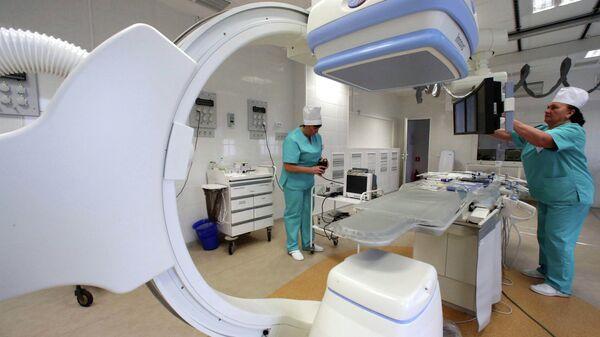 Медицинское оборудование. Архивное фото