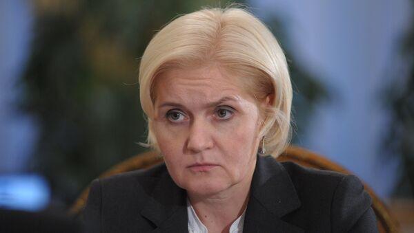Вице-премьер РФ по социальным вопросам Ольга Голодец. Архив