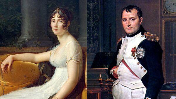 Франсуа Жерар Жозефина, 1801 / Жак Луи Давид Император Наполеон в своем кабинете в Тюильри, 1812