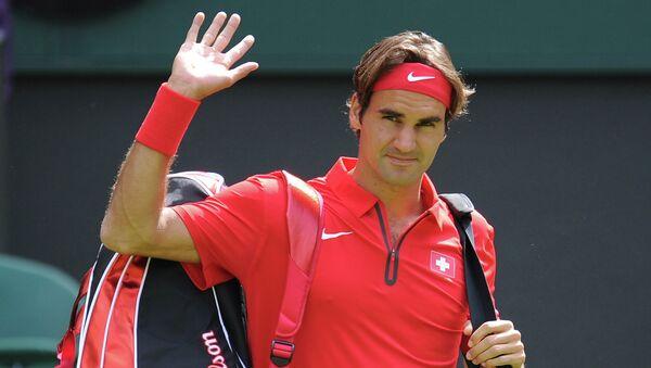 Швейцарский теннисист Роджер Федерер, архивное фото