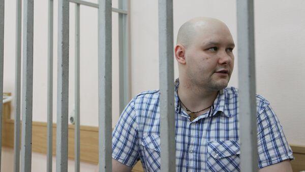 Лидер националистической организации Лига обороны Москвы Даниил Константинов