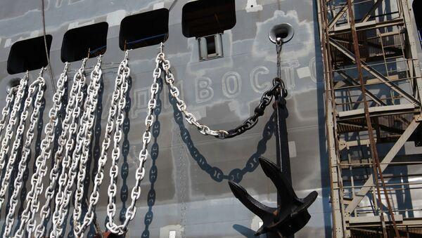 Якорная цепь, архивное фото