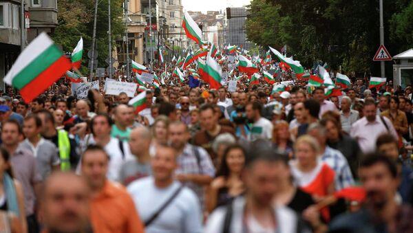 Демонстрации в Болгарии