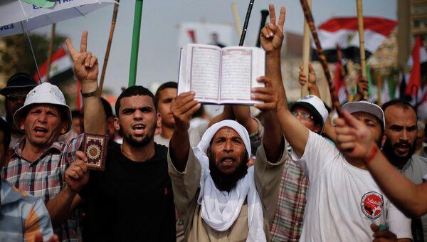 Акция в поддержку Мурси в Каире