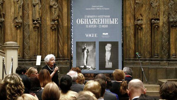Открытие выставки Обнаженные. От мрамора к фотографии