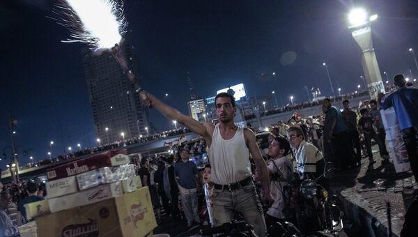 Митинг оппозиции на площади Тахрир в Каире