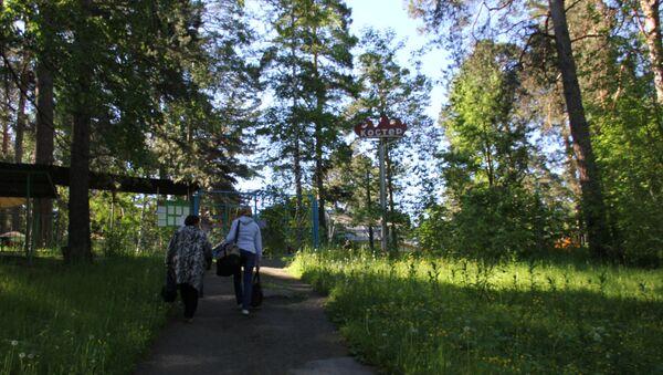 Детский лагерь Костер под Томском. Архивное фото