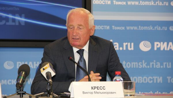 Сенатор от Томской области Виктор Кресс
