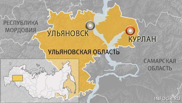 Поселок Курлан Ульяновской области