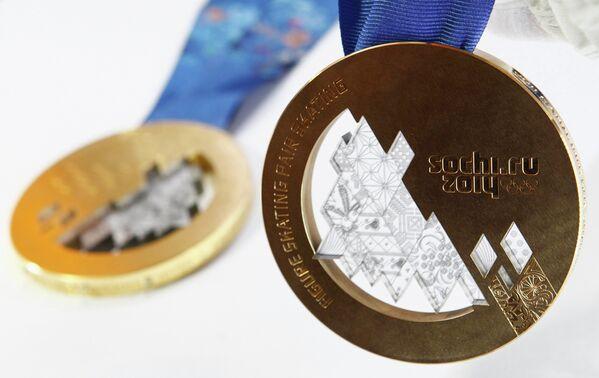 Медали для сочинских XXII Олимпийских зимних игр 2014 года