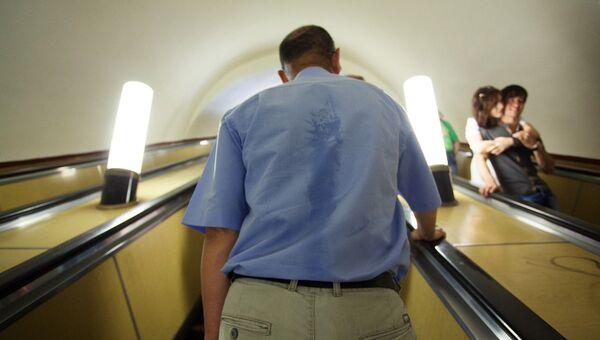 Жара в метро. Архивное фото