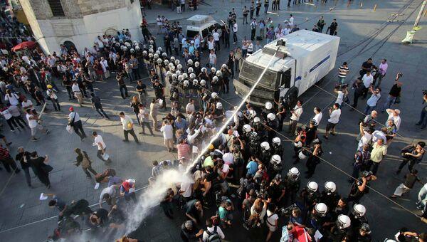 Полиция пресекла акцию протеста в Стамбуле