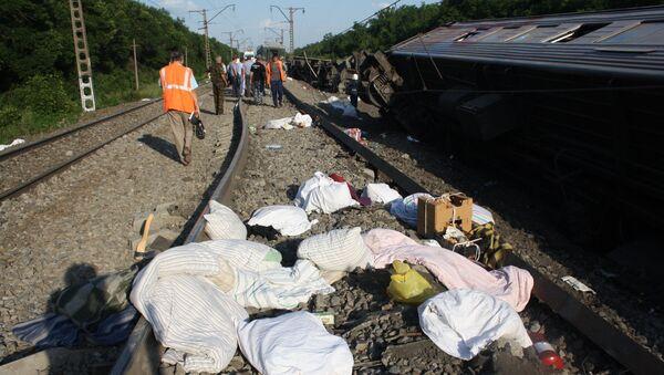 Крушение поезда на Кубани