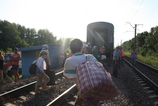 Крушение пассажирского поезда Новосибирск - Адлер
