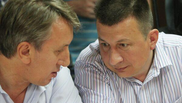 Оглашение приговора по делу бывшего командира АГВП Стрижи, архивное фото