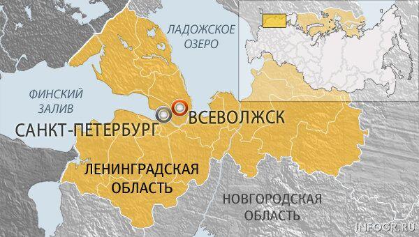Город Всеволожск Ленинградской области
