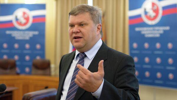 Лидер партии Яблоко Сергей Митрохин. Архивное фото