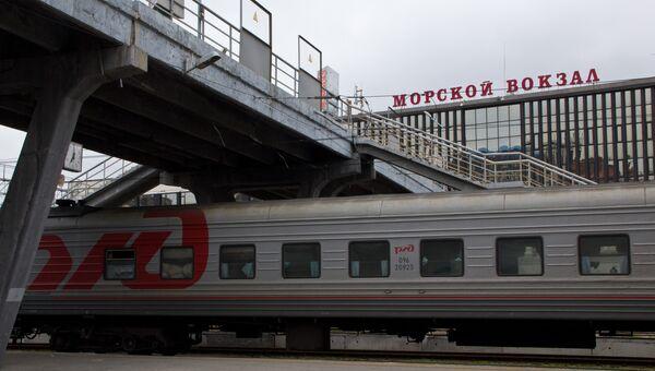 Железнодорожный и морской вокзалы соседствуют во Владивостоке