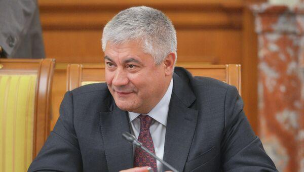 Министр внутренних дел РФ Владимир Колокольцев, архивное фото