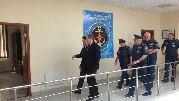 Замглавы МЧС Сергей Шляков. Архивное фото