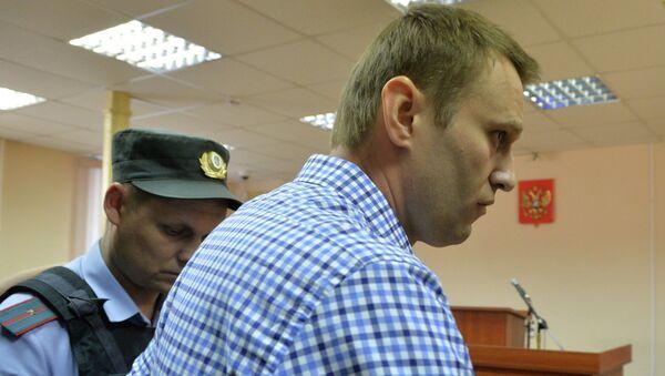 Оппозиционер Алексей Навальный признан Ленинским судом Кирова виновным