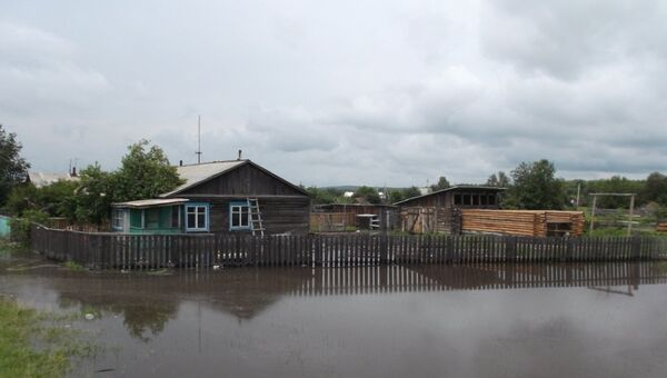 Последствия паводка в Зейском районе Амурской области