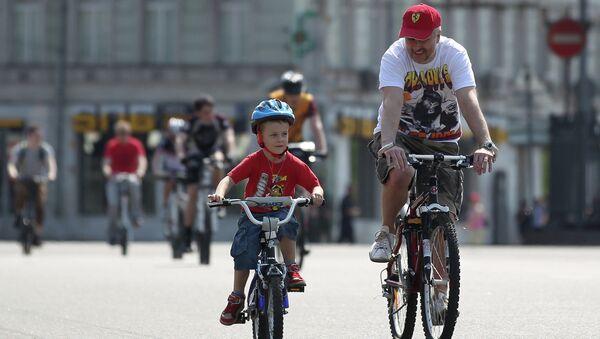 Велопробег в Москве
