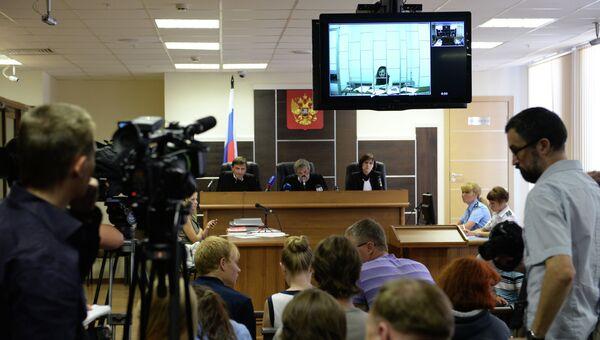 Рассмотрение жалобы Марии Алехиной в Пермском краевом суде