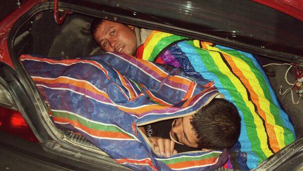 Нелегалы из Узбекистана. Архивное фото